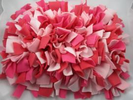 Snuffelmat L Roze