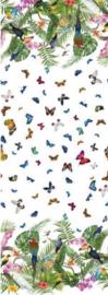 Tricot paneel vlinder