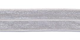 lichtgrijs  elastisch biaisband 20 mm