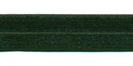 legergroen elastisch biaisband 20 mm