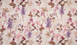 tricot Flowers lilac