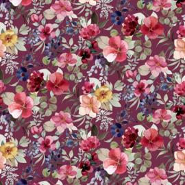 tricot poppy new flower berry