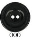 Bottoni Italiani maat 32 (20mm) zwart
