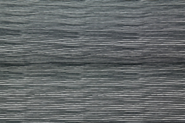 Tricot stripes black
