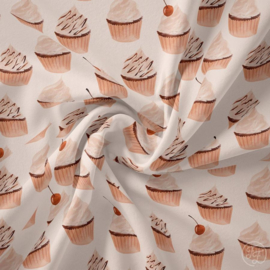 Tricot Family Fabrics Muffin Eggnog