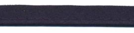 donkerblauw piping-/paspelband  - 2 mm koord