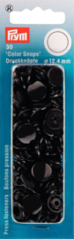 Prym color snap zwart 12,4 MM