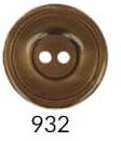 Bottoni Italiani maat 28 (17,5m) gemeleerd bruin