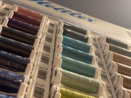 Mega verpakking 9 kleuren Mettler Seraflex