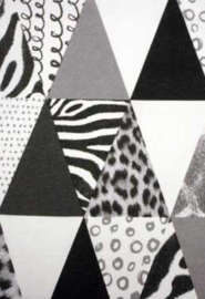 Canvas zebra triangle