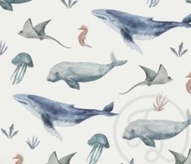 Tricot Family Fabrics deep sea life