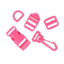 Complete tassenset 15mm (verschillende kleuren)