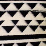 Gekookte wol black white