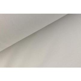 Boordstof uni white