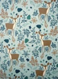 Canvas herfst blauw