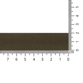Keperband/tassenband 20mm Bruin