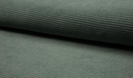 Rib grof(tricof/rekbaar) dusty mint