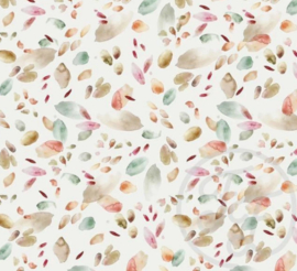 Tricot Family Fabrics Abstract leaves