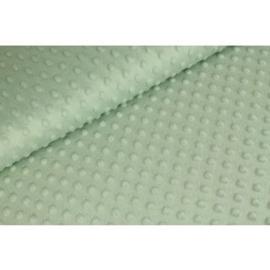 Minky fleece green/blue