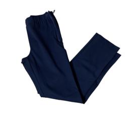 Jadey zipper recht  donker blauw