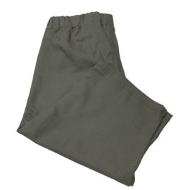 Marley zipper donker groen