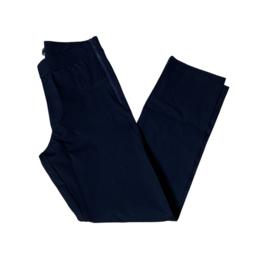 Lesley zipper recht  donker blauw
