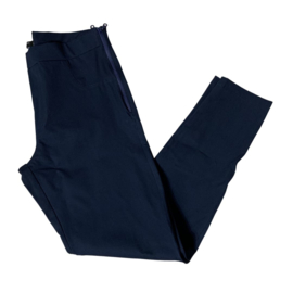 Lesley zipper skinny  donker blauw