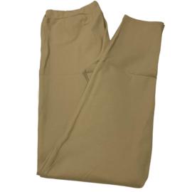 Lesley zipper skinny zand Vrouw