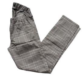 broek ruit grijs