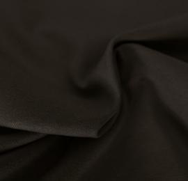 Lesley zipper recht bruin