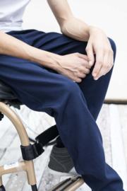 Casey zipper donker blauw