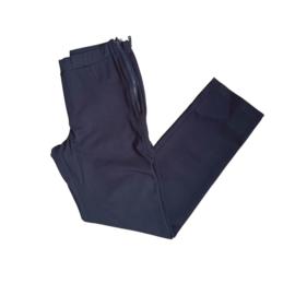 Jadey zipper recht donker grijs