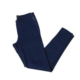 Jadey zipper skinny  donker blauw