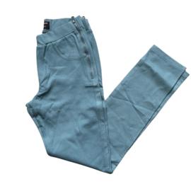 Casey zipper licht blauw