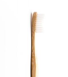 Bamboe tandenborstel - Soft - Wit