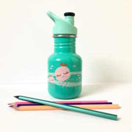 Gourde avec bouchon sport pour enfants - 355ml - Jelly Fish