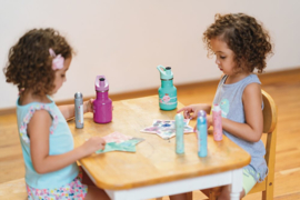 Gourde avec bouchon sport pour enfants - 355ml - Bubble Gum