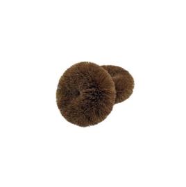 Kokos schuursponzen (2 stuks)
