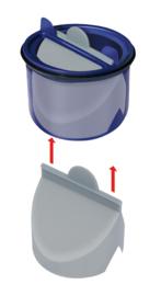 Membraan t.b.v. Reukslot Adapter (RSA)