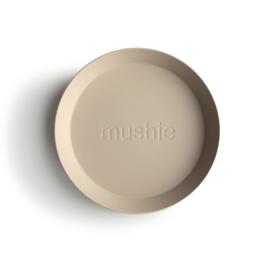 Mushie Plate - Vanilla