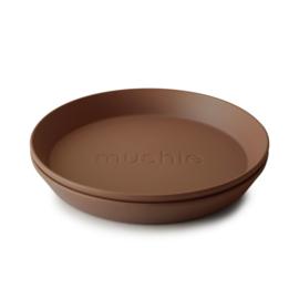 Mushie Plate - Bord Caramel