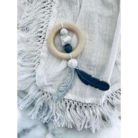 Marble Feather Bijtring