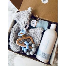 Alpaca Gift Box Blue Deluxe