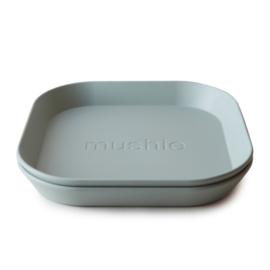 Mushie Plate - Bord Sage