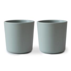 Mushie Cups Sage