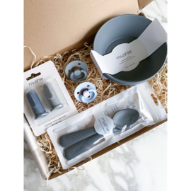 Mushie Gift Box Deluxe Grey