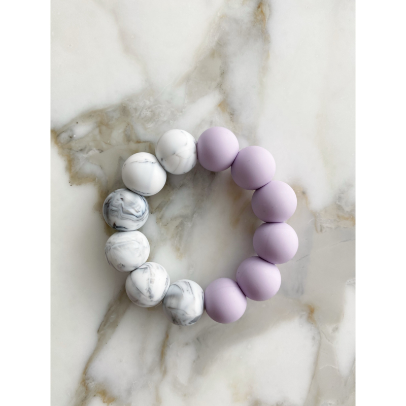 Lilac Marble XL Teether