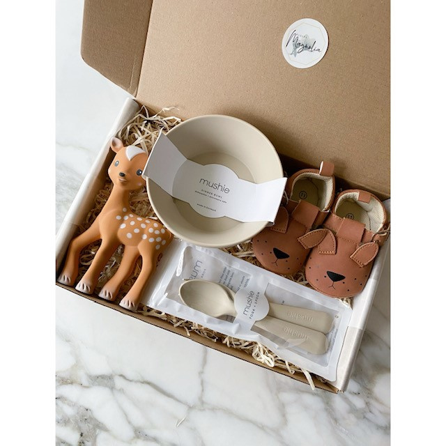 Mushie Gift Box Deluxe Neutral