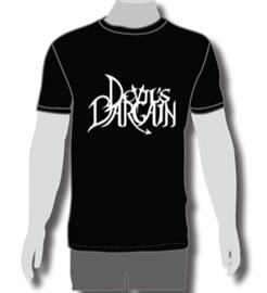 T shirt Men Black  /Logo White