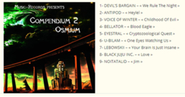 Devil's Package 4 CD's- Visions + Deal With the Devil + Sounds of Hell Series vol1 + Compendium Osmium vol2